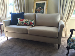 set of two custom sanderson cushions