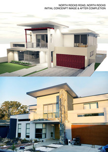 Double storey residence at North Rocks