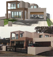 Double storey residence at Drummoyne
