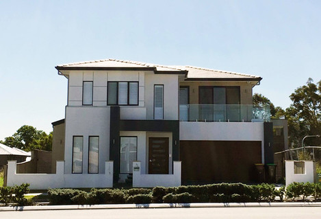 Double storey residence at Potts Hill