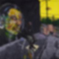 """""""Will Kasso"""" 48x48 acrylic 2014"""