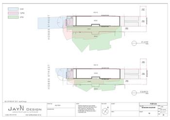 Shadow Diagram - Plan view