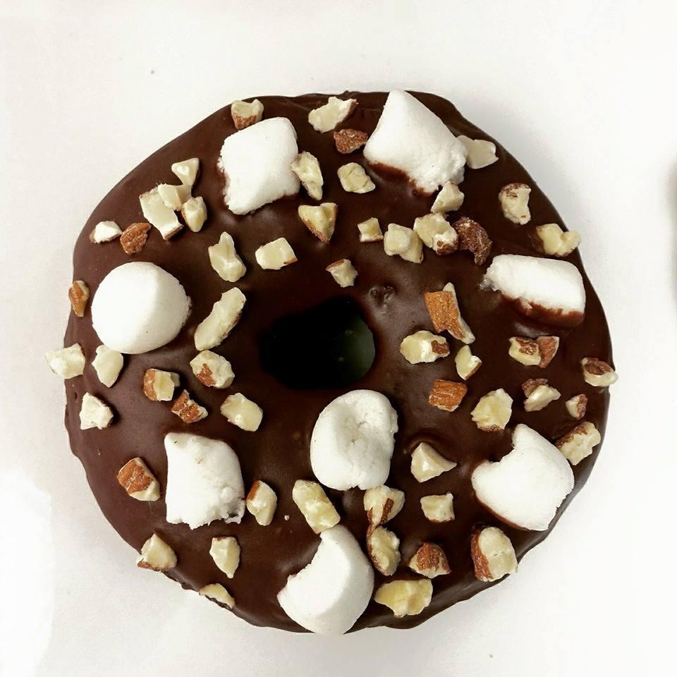 Rocky Road Doughnut