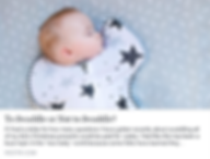 Desiree Baird, Certified Sleep Consultant | Seattle | To Swaddle or Not to Swaddle?