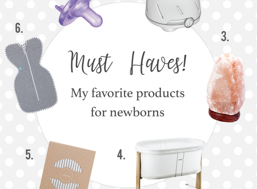 Must have products for newborn sleep