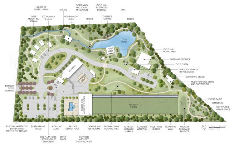 Tiger Mountain Center Masterplan