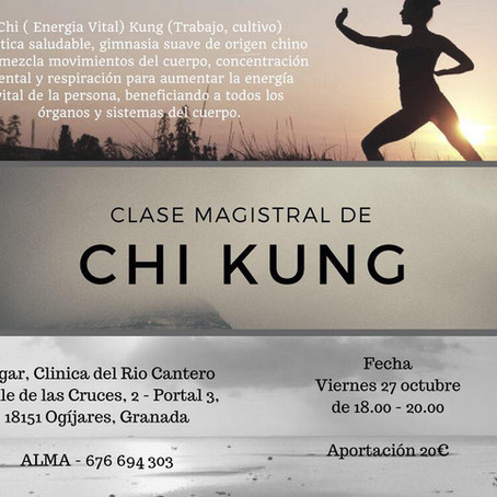 Clase Magistral de Chi Kung (Qi Gong)