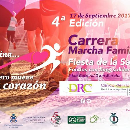 Carrera fiesta de la Salud Granada 2017