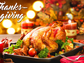Our Annual Parish Thanksgiving Lunch This Sunday 11/17