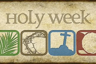 Holy Week Service Schedule 2019