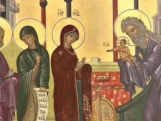 Mass for the Purification of the Blessed Virgin Mary tonight at 6:30 PM