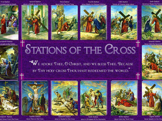 Stations of the Cross Begins Tonight 6 PM