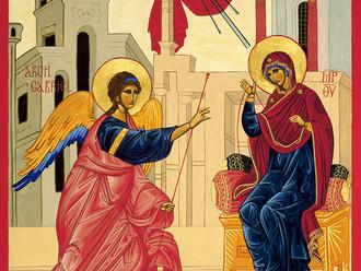 Annunciation Mass Tomorrow 6 PM