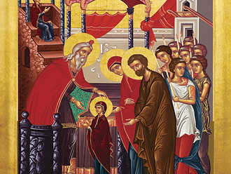 Mass for The Presentation of the Blessed Virgin Mary at the Temple tonight at 6 PM