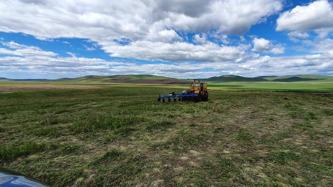 «Комсомолец» завершил посевную в Забайкалье на 38 тысячах га — это новый рекорд предприятия