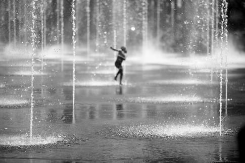 Danser avec l'eau