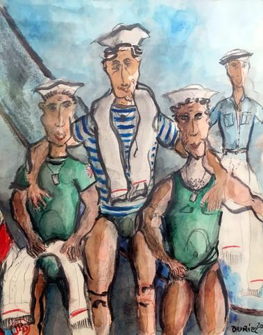 Les marins US