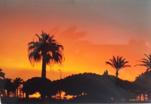 Un matin près de l'aéroport de Nice