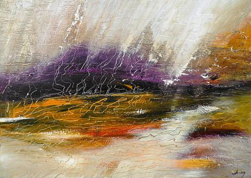 La montagne violette