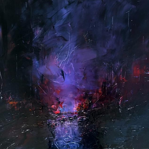 Lueur dans la nuit