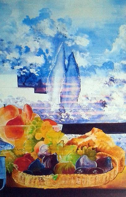 Les cyprès bleus