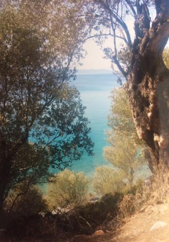 Regard d'une île de la mer Égée
