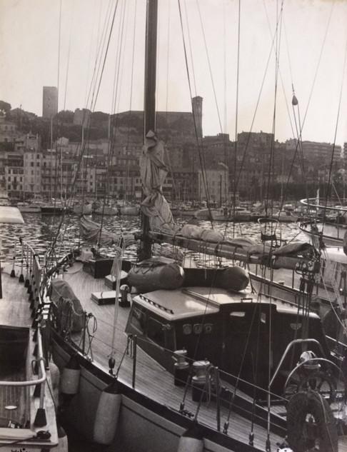 Cannes années 70, le vieux port et le Suquet
