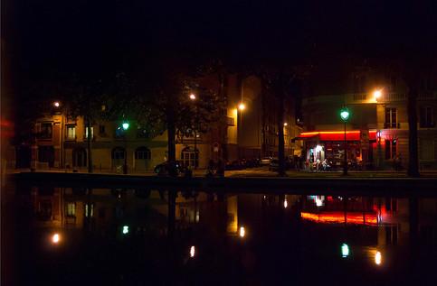 Le Canal St Martin, à Paris