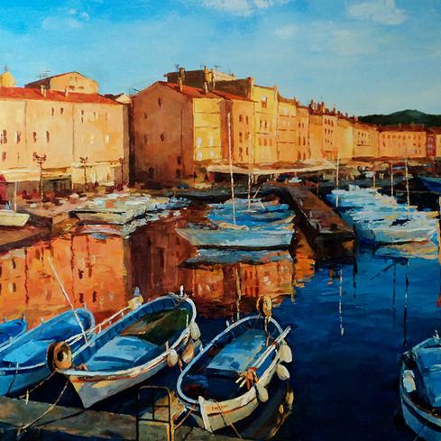 Le port de St-Tropez
