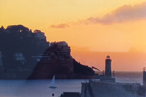 Nice, le port à l'aube