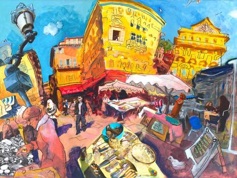 Marché Antiquités, Nice, 2008