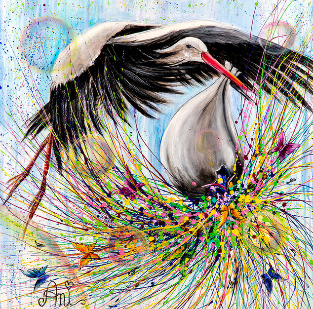 The stork of peace