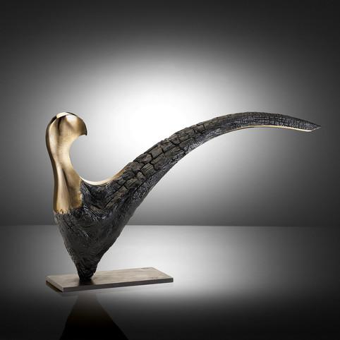 Faisan bronze