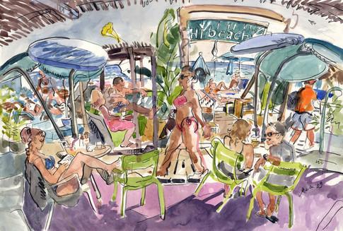 Hi Beach, la lecture