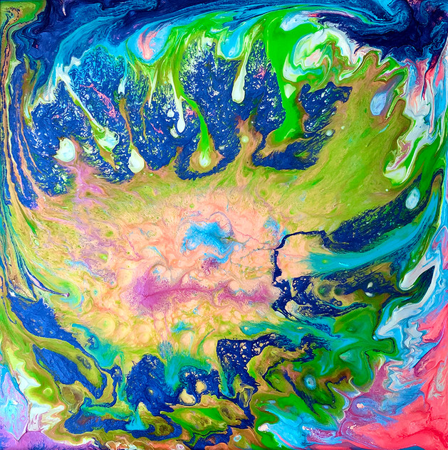 La mer colorée
