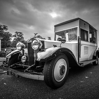 Rolls Royce camion à glace