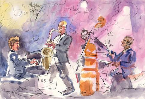 Eli Degibri Quartet