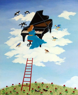 Musique dans les nuages