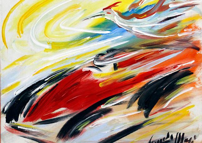 La Ferrari con airone