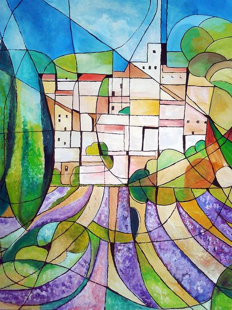 Eternel paysage de Provence