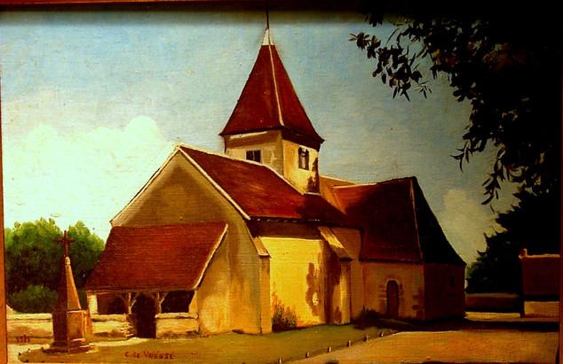 Eglise de Nohant