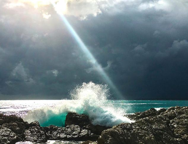 Vague aux Graillons, Cap d'Antibes