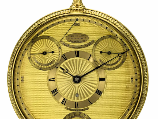 George III's Watch Blocked from Leaving Britain