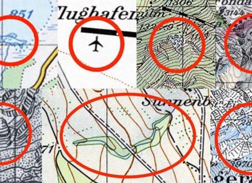 Swiss Humour Hidden in Maps