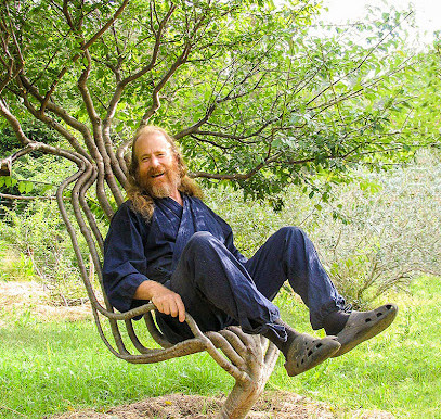 Artist Grows Tree as Chair