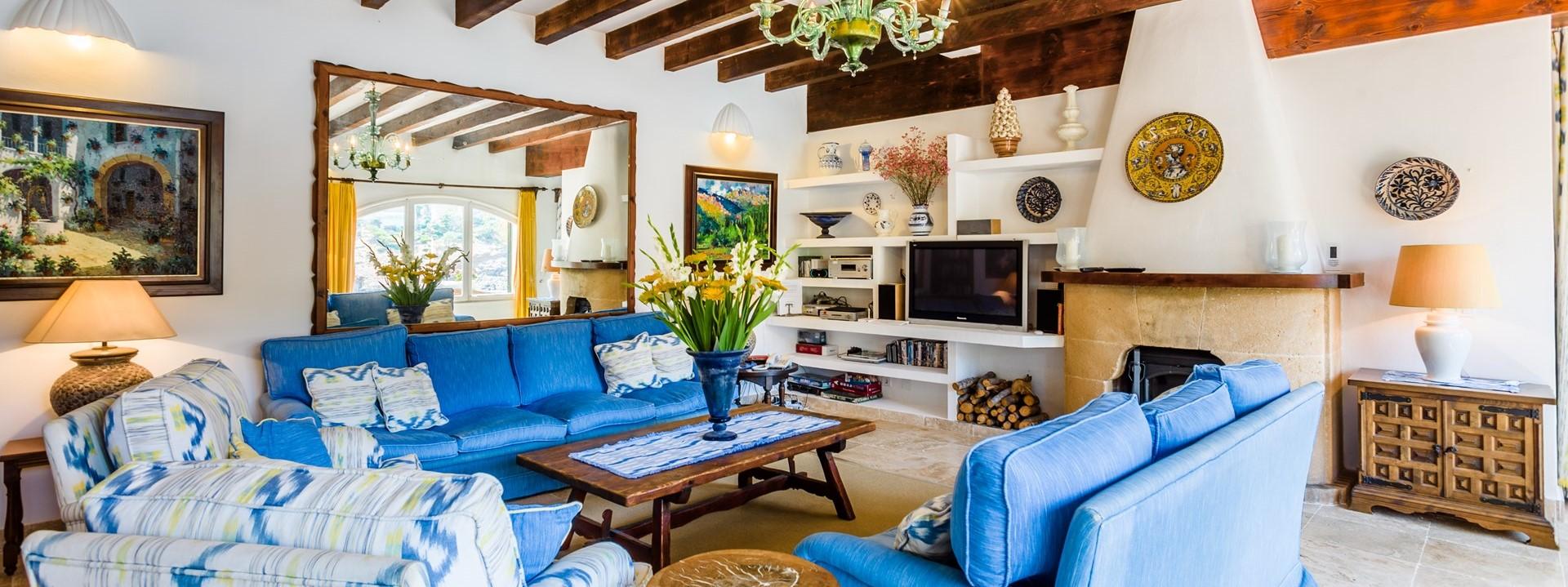 villa-mar-azul-mallorca-lounge