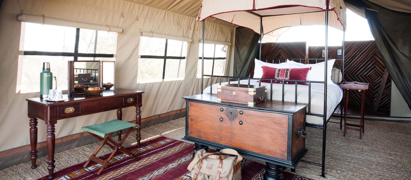 Camp-Kalahari-Guest-Tent-Interior