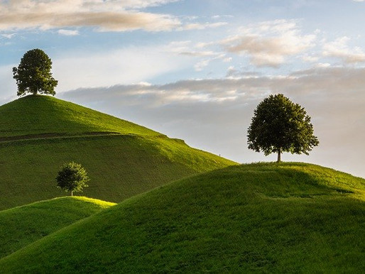 Hills Could be Used as Batteries