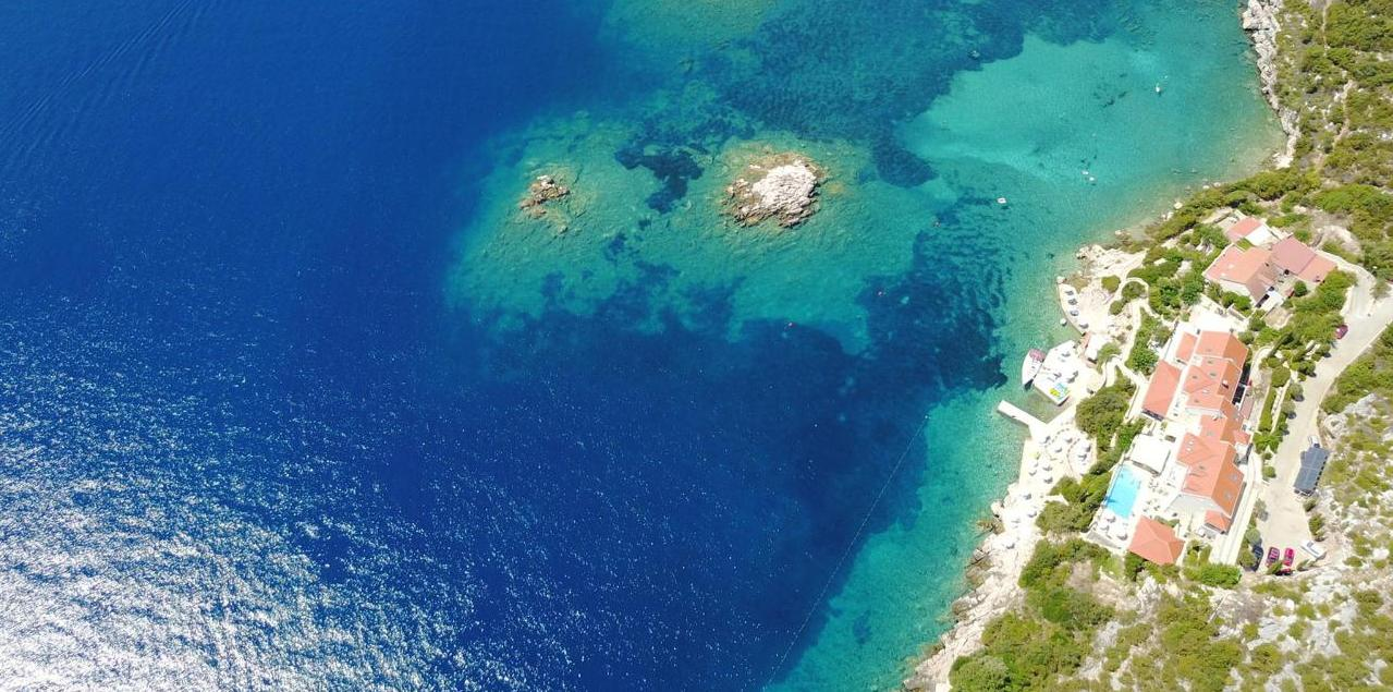 hotel-bozica-sipan-island-aerial