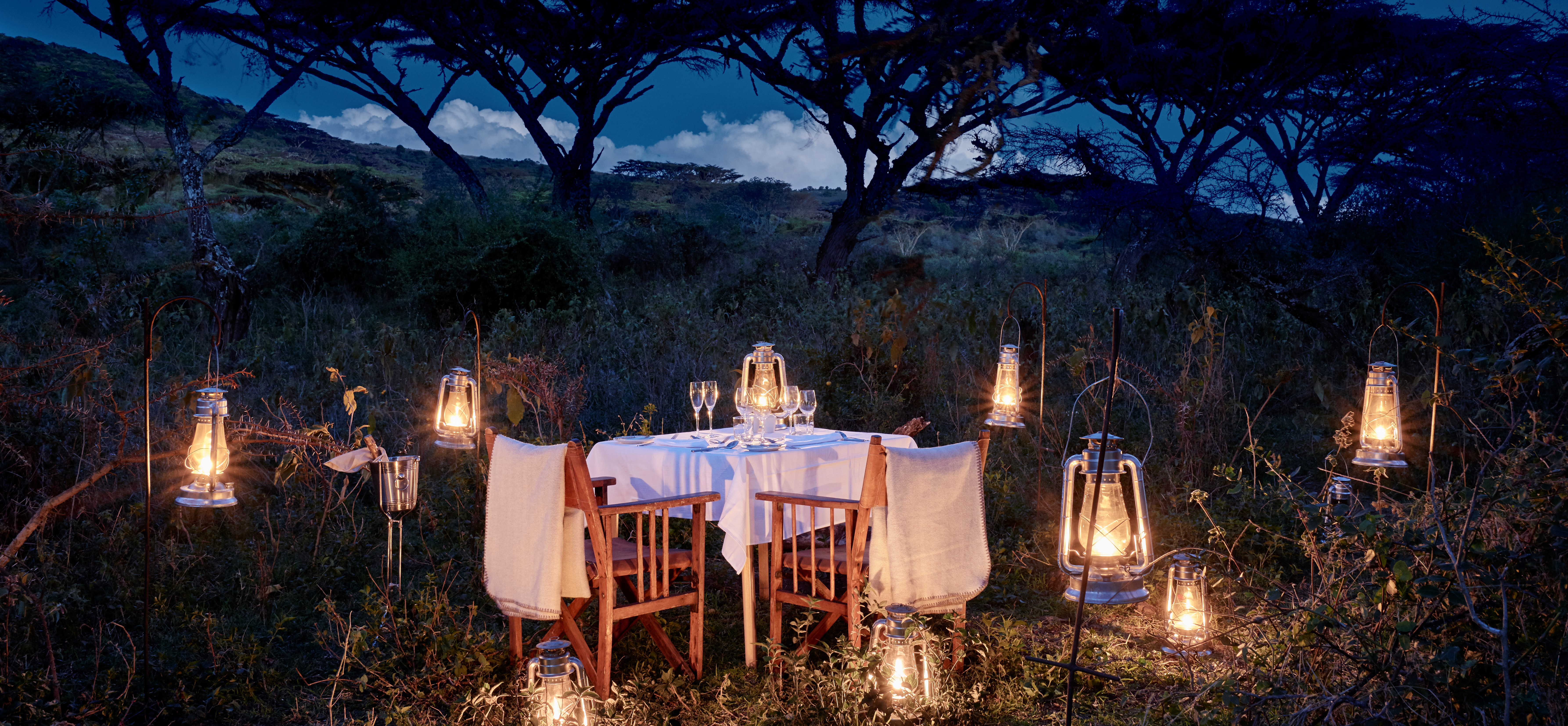 dinner-in-the-bush-ngorogoro